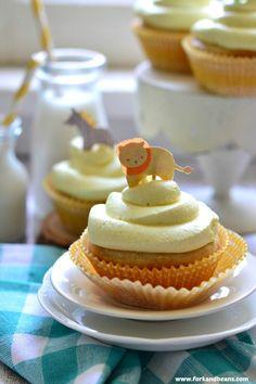 Lemon Blackberry Cupcakes (Gluten-Free Vegan) - Fork & Beans #gluten-free #vegan #cupcakes