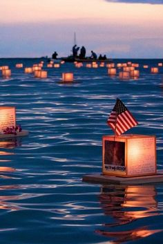 Hawaii Celebrates Memorial Day With A Glowing Sea Of Memories