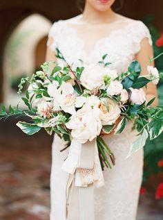 Photography: Stephanie Brazzle Photography - stephaniebrazzle.com Wedding Dress: Ines Di Santo - inesdisanto.com/ Floral Design: Posh Floral - poshfloral.com   Read More on SMP: http://stylemepretty.com/vault/gallery/57766