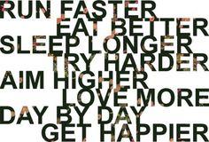 Happier.
