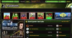 Newgrounds.com Audio Portal Free Mp3 Music Download, Mp3 Music Downloads, All Time Hit Songs, Get Free Music, Best Sites, Music Is Life, Arcade Games, Portal, All About Time