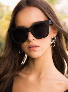 Quay After Hours Sunglasses Black/Smoke