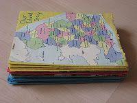 An Island Story : Unit Study - I like the idea of an accordion folded timeline.