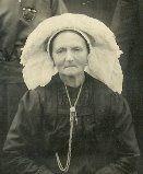 Grutje Hop, grootmoeder van Kees Habraken.  (Tonnemie) Antonia Maria Habraken-Vermolen. Geboren Diessen 08-12-1866, Overleden in Moergestel 09-08-1949. #NoordBrabant