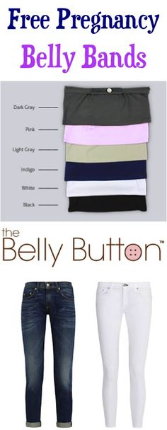 FREE Pregnancy Belly Bands!  {just pay s/h} ~ the simple thrifty trick to a super-cute pregnancy wardrobe!