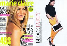 Marie Claire Australia  November 2012    Featuring our 3 Colts Trouser in Tango    Shop here....http://www.antipodium.com/bottoms/3-colts-trouser-in-tango