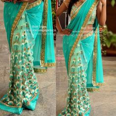 Flower embroidered designer saree  Product Info : KT-3164 PALLU-60GM GEORGET SCUT-NAYLONE NET  BLOUSE-ROW SILK& NET INNER-SATIN  Price : 1990 INR Only! #Booknow  World Wide Shipping Available ! ✈ PayPal / WU Accepted 👉 Stitching Service Available 👉 To order / enquiry 📲 Contact On WhatsApp / DM : +91 9054562754  #indianwear #ethnicwear #fashion #style #bollywood #bollywoodstyle #me #love #follow #couture #clothes #outfits #ootd #designer #usa #uk #canada #india #pakist..