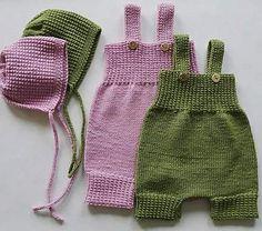 Lage i dukkestørrelse. Ravelry: Gompiromper pattern by Kairi Aksnes Crochet Bow Pattern, Baby Cardigan Knitting Pattern Free, Crochet Bows, Baby Knitting Patterns, Free Pattern, Knit Crochet, Baby Barn, Kids And Parenting, Diy Clothes
