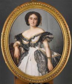 Portrait de femme Winterhalter Franz Xaver (1805-1873)