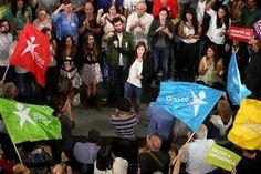"""Catarina dá trégua ao PS e apela ao voto dos """"enganados"""" por PSD e CDS Não caiam nessas pesquisas. Fiquem em casa ou vão á praia! #ForaSocialismoDePortugal onde aumentou a miséria."""