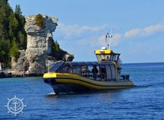 Book a cruise today! See the shipwrecks in Big Tub Harbour, explore Flowerpot Island, and much more! Tobermory Ontario, Flowerpot Island, Big Tub, Glass Bottom Boat, How To Book A Cruise, Best Cruise, Boat Tours, Online Tickets, Sailing