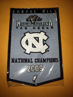 North Carolina Tar Heels 2009 National Champions Banner