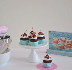 Sweet Petite Ice Cream Sundae Cupcakes by SweetPetiteShoppe, $20.00