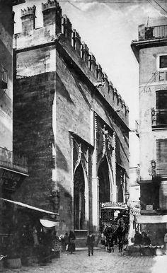 Un ripert en Valencia a principios del s. XX. Cortesía: Rails i ferradures, railsiferradures.blogspot.com (España).