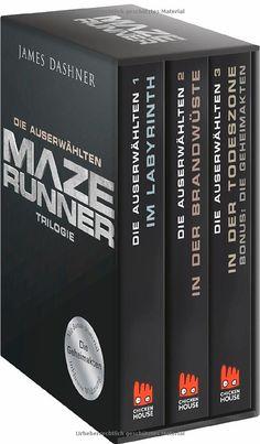 Maze Runner-Trilogie - Die Auserwählten: Schuber mit Bonusmaterial (Die Auserwählten - Maze Runner)