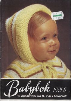 Knitting For Kids, Baby Knitting, Crochet Baby, Knit Crochet, Baby Barn, Baby Kids, Winter Hats, Creative, Diy