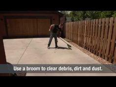 Power Wash Concrete   Home Hacks - YouTube
