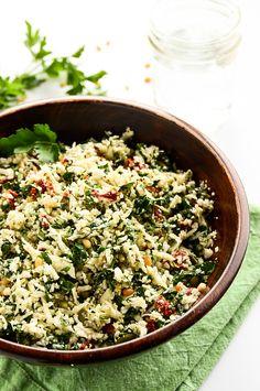 Revitalizing and Raw Cauliflower-Tomato Detox Salad