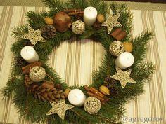 Gregorova Handmade - advent wreath I. 2013