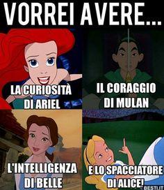 Come la Disney non ce ne sono ❤️ Wtf Funny, Funny Cute, Funny Jokes, Hilarious, Memes Humor, Funny Images, Funny Photos, Italian Memes, Arte Disney