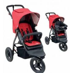 Mother's Choice Harvey 3 Wheel #Stroller and Toddler Seat. The Mother's Choice Harvey Stroller and Toddler Seat is the ultimate package. Full of features including rear ventilation in the canopy, reversible seat pad and pneumatic tyres for a smooth ride. This combination offers the complete newborn and toddler solution.