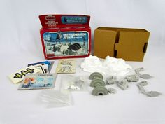 Vtg 1982 STAR WARS Micro Collection Hoth Generator Attack Action Playset Kenner #Kenner