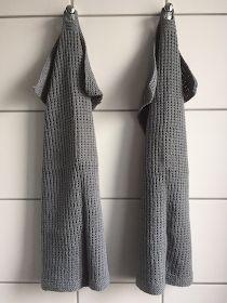 Handknitted guest towels - by GJ: Strikkede gæstehåndklæder Guest Towels, Knitting For Beginners, Knitwear, Crochet, Sweaters, Blog, Diy, Inspiration, Tops