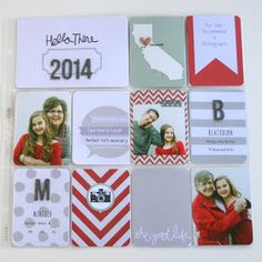 Bunches and Bits: Project Life 2014: Cover Page