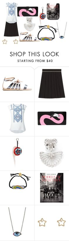 """fierce"" by emmamegan-5678 ❤ liked on Polyvore featuring Ancient Greek Sandals, Gucci, Veronica Beard, Yazbukey, Fendi, Yvonne Léon, Venessa Arizaga, lito, Aurélie Bidermann and tops"