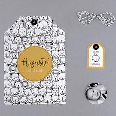 Faire-part de naissance Family : original, motif, dans la catégorie trendy