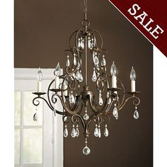 Waldorf 6-Arm Chandelier  [illuminate] I ballarddesigns.com-for dining room but may be too fancy for me!