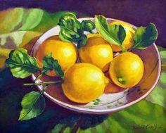 Fiona Craig | OIL | Fresh Lemons