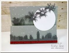 Believe in the Magic of Christmas–OCC Homework! Features a Z fold card!