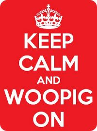 Keep Calm - Razorback T-Shirts are here.  WOOPIG!
