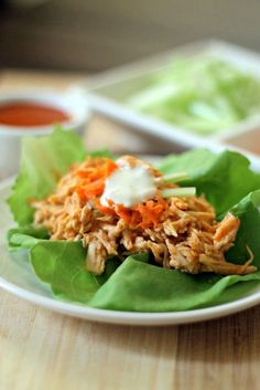 skinny buffalo chicken lettuce wraps buffalo chicken lettuce wraps ...