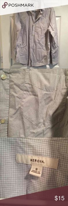 Men's Longsleeve Button Down Top Excellent condition. ⚡Will not be priced lower. ❌No offers❌ Merona Shirts Dress Shirts