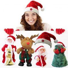 Albero di Natale che canta e balla 15,50 € #albero #natale #balla #decorazione #bambini #feste