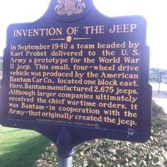 La historia de la creacion del Jeep  :)