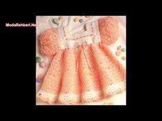 Örgü bebek elbise modelleri 2016 - 2017 - YouTube
