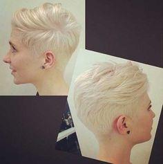 30 Short Trendy Haircuts | http://www.short-haircut.com/30-short-trendy-haircuts.html
