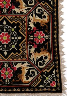 Cross Stitch Tree, Cross Stitch Embroidery, Palestinian Embroidery, Bedroom Carpet, Persian Carpet, Needlepoint, Bohemian Rug, Diy And Crafts, Rugs
