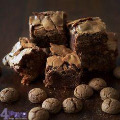 Pepernoten brownies. Lekker voor Sinterklaas. Binnen een half uur klaar!