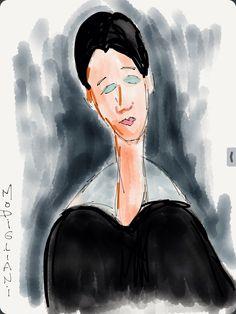 Modigliani avec Paper 53