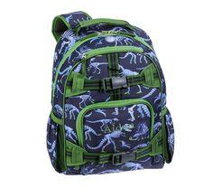 Mackenzie Blue Dino Backpacks