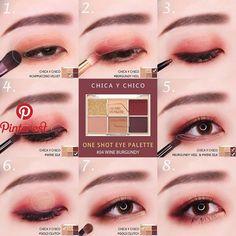makeup tutorial makeup tutorial Nude Makeup Idea With Black Eyeliner How to get Asian eyes bigger with make. Korean Makeup Look, Korean Makeup Tips, Asian Eye Makeup, Korean Makeup Tutorials, Ulzzang Makeup Tutorial, Asian Makeup Looks, Makeup Trends, Makeup Inspo, Makeup Inspiration