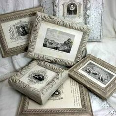 DIY Frames ready for the wall!