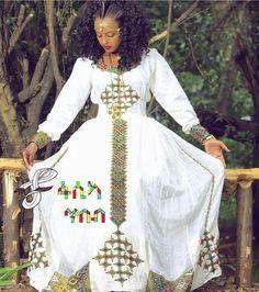 Gorgeous Traditional Habesha Dresses for Sale - Ambessa Weddings ...