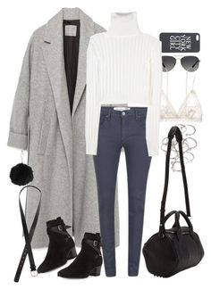 """""""Untitled #7895"""" by nikka-phillips ❤ liked on Polyvore featuring Michael Kors, Zara, Hanky Panky, Victoria Beckham, Calvin Klein Collection, Forever 21, Alexander Wang, Yves Saint Laurent, H&M and Topshop"""