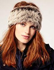 Winter hat wear.