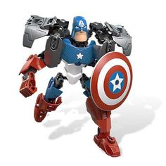 Educational Block model Super heroes Avengers Iron Man Batman Hulk Captain America Building Blocks DIY bricks toys action figure #>=#>=#>=#>=#> Click on the pin to check out discount price, color, size, shipping, etc. Save and like it!